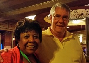 Kathryn Elliott-Hudson with Dr. Chuck Maurer
